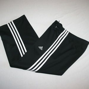 Adidas Sweat Athletic Cropped Pants Women S Black